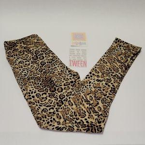 Lularoe Animal Print Leggings Tween